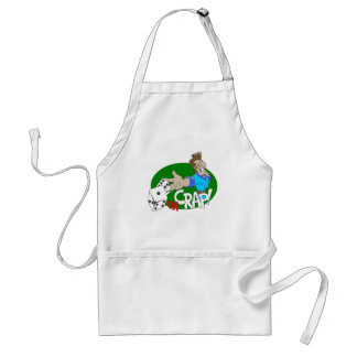 OH Crap! T-shirts and Gifts. Adult Apron