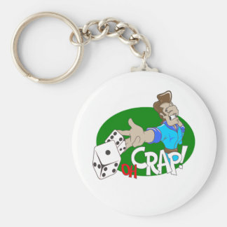 OH Crap! T-shirts and Gifts. Keychain