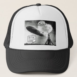Oh Crap The System Crashed Trucker Hat