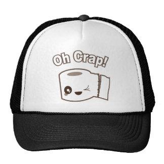 Oh Crap (Toilet Paper) Trucker Hat
