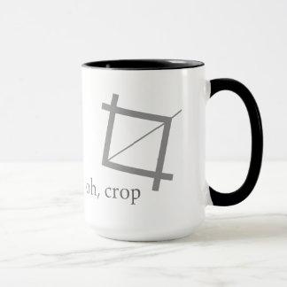 Oh Crop Designer Photoshop Geek Nerd Art Mug