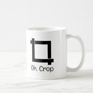 Oh Crop Funny Photo Editing Coffee Mug