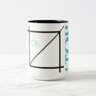 """Oh Crop"" Graphic Designer Mug"