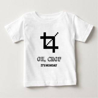 Oh Crop , It's Monday T Shirt