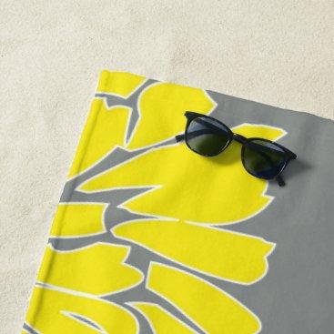Beach Themed Oh Dahlia! Beach Towel