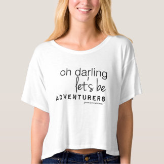 Oh Darling Crop T-shirt