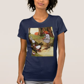 Oh Dear!Oh Dear! I Shall be too Late!Ladies Petite T Shirt