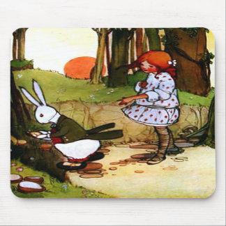 Oh Dear! Oh Dear! I Shall be too Late! Mousepad