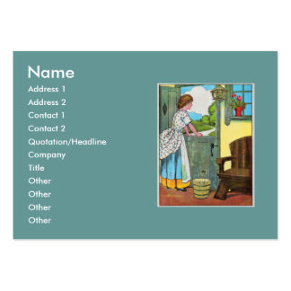 Oh, dear, what can the matter be? large business cards (Pack of 100)