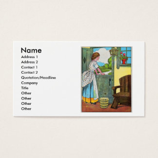 Oh, dear, what can the matter be? business card