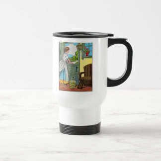 Oh, dear, what can the matter be? travel mug