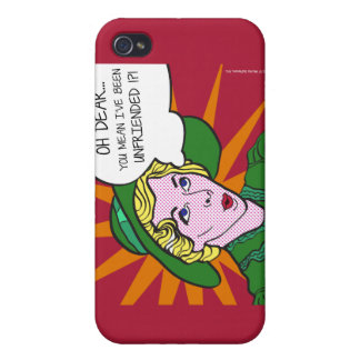 Oh Dear You Mean I've Been Unfriended? Pop Art iPhone 4/4S Cover