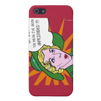 Oh Dear You Mean I've Been Unfriended? Pop Art iPhone SE/5/5s Cover