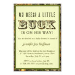 Oh Deer, A Little Buck Is On His Way! Camo Invite
