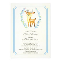 Oh Deer Boys Baby Shower Baby Invitation