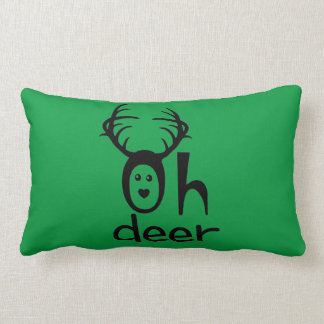 Oh Deer - Deer Throw Pillow