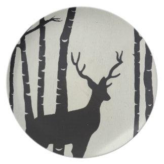 Oh Deer Dinner Plate