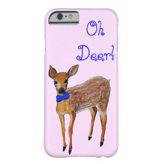 """Oh Deer"" Fawn Phone Case"