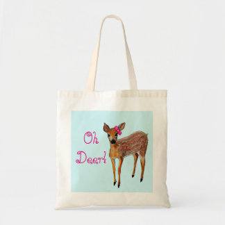 """Oh Deer"" Fawn Tote"