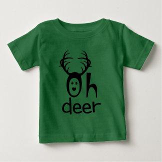 Oh Deer - Funny Cartoon Deer Tee