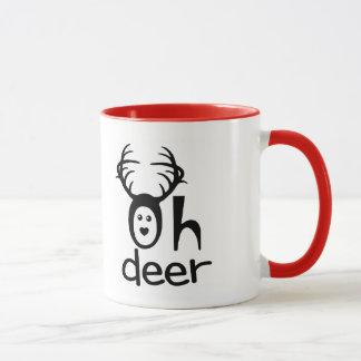 Oh Deer - Funny Deer Coffee Mug