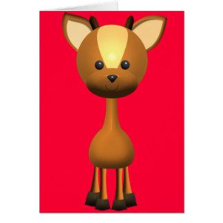 Oh, Deer!  II Card