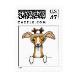 Oh Deer Italian Greyhound Postage