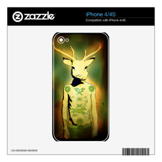 Oh Deer! Decals For The iPhone 4S