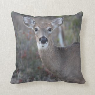 Oh Deer!!! Throw Pillow