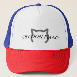 Oh Don Piano Hat