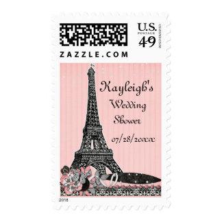 Oh ducha personalizada París del boda Franqueo