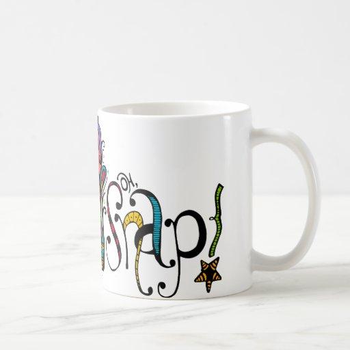 oh ejemplo rápido del zen taza de café