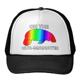 Oh el HUE-MANATEE Gorras De Camionero