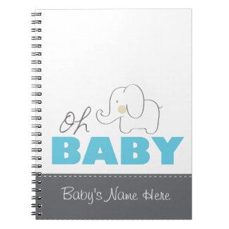 Oh elefante del bebé - cuaderno