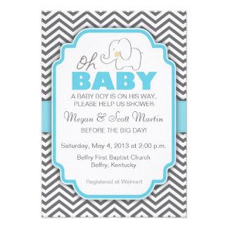Oh elefante del bebé - la fiesta de bienvenida al