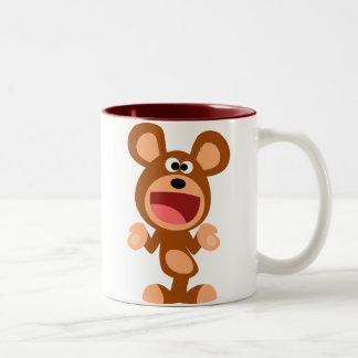 """""""Oh…"""" Encogimiento de la taza del oso del dibujo a"""