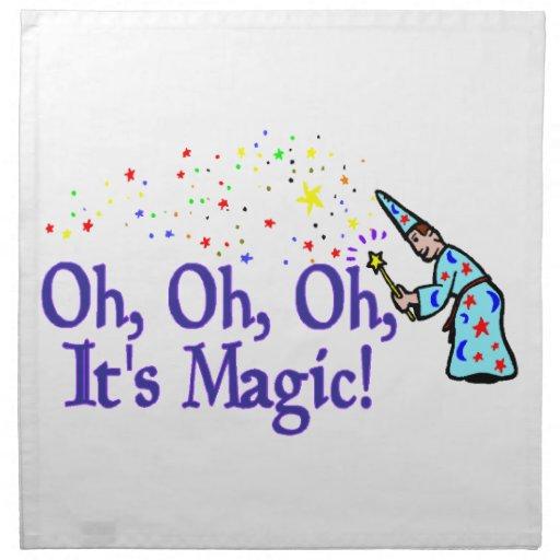 Oh es mágico servilletas