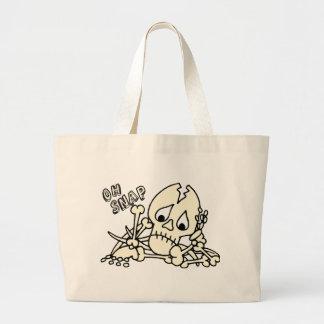 Oh esqueleto rápido bolsa