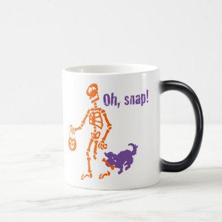 Oh, esqueleto rápido taza