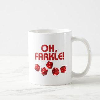 ¡Oh Farkle Taza De Café