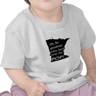 Oh Fer Goodness Sake Hand Over Pop MN Infant Tee