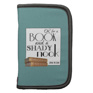 Oh for a book and a shady nook folio planner