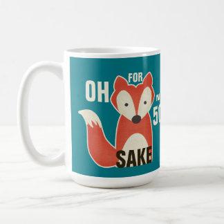 Oh, For Fox Sake I'm 50 Birthday Coffee Mug