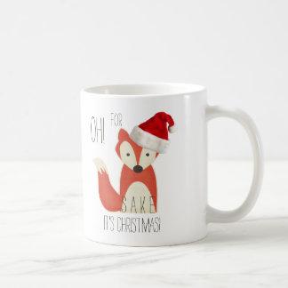 Oh! For Fox Sake It's Christmas! Coffee Mug
