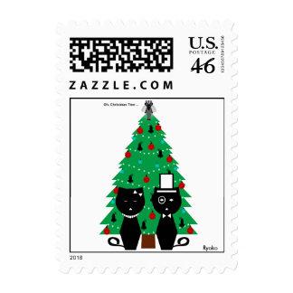 Oh franqueo del árbol de navidad