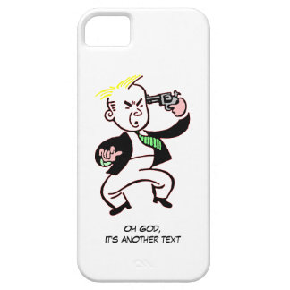 Oh God, it's another text iPhone Case