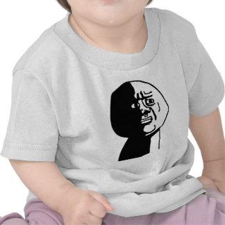 Oh God Why Guy Rage Face Meme T Shirt