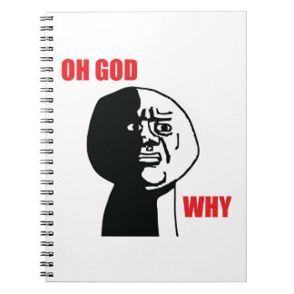 Oh God Why - Notebook
