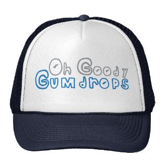 oh goody gumdrops trucker hat