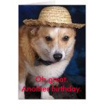 Oh grande. Otro cumpleaños Tarjeta